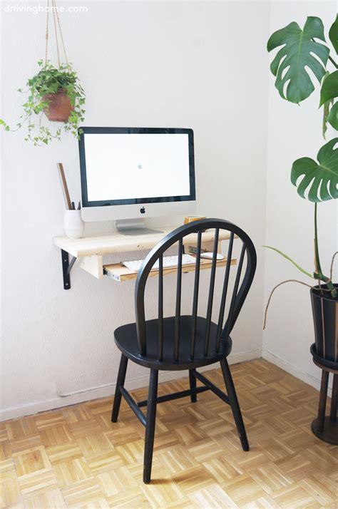 decorar escritorio pc diy escritorio de pared blog decoraci 243 n con tu estilo