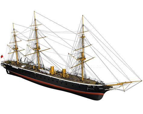 warrior billing boats billing boats b512 hms warrior warship model boat