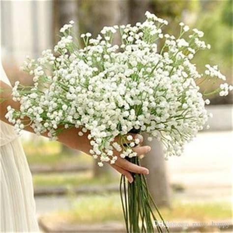Benih Bunga White Babys Breath flowers all the sky simulation flower flower with flower wedding flower simulation