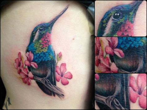 realistic hummingbird tattoos hummingbird animal tattoos