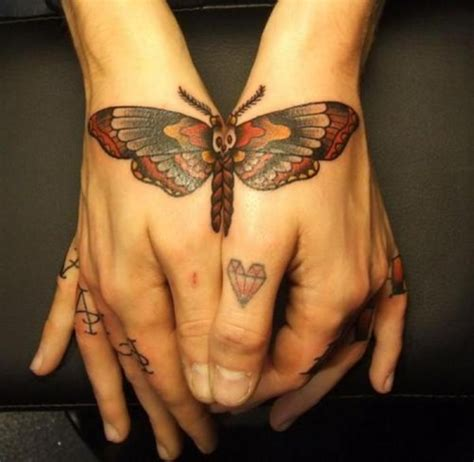 butterfly tattoo nape 2014 summer popular tattoos best tattoo 2014 designs