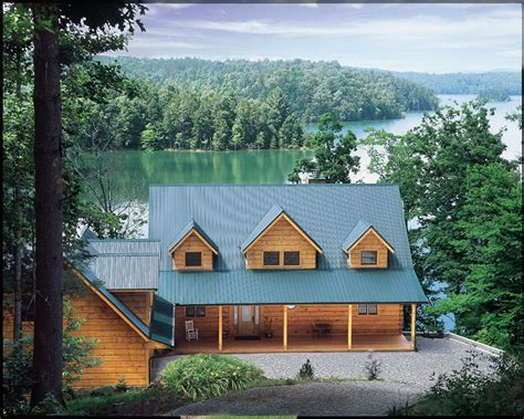 stress free living with true log homes gearminded