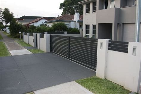 boundary wall design letterboxes and lighting modular walls boundary walls