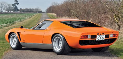 Lamborghini Jota 1969 Lamborghini Miura S Jota Up For Auction 95 Octane