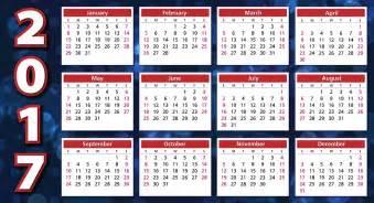 Kalender Med Uker 2018 Ilustra 231 227 O Gratis Calend 225 2017 Ordem Do Dia Imagem