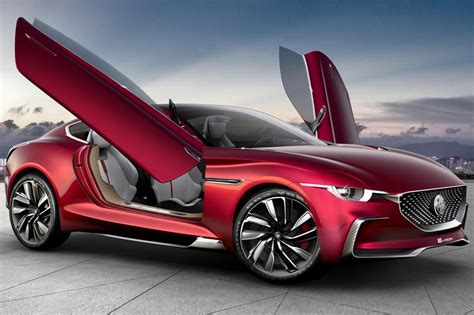 electric mg  motion concept  supercar