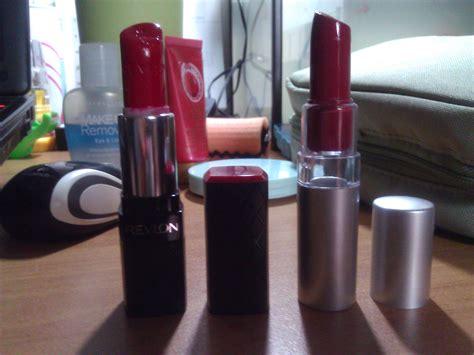 Bedak Dan Lipstik Revlon warna simply me