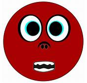 Animated Scared Face  Clipartsco
