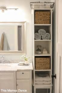 bathroom cabinet ideas storage cottage style white bathrooms and cabinets on pinterest