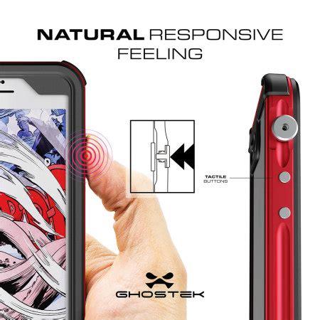 ghostek atomic 3 0 iphone 7 plus waterproof tough h 252 lle rot mobilefun de