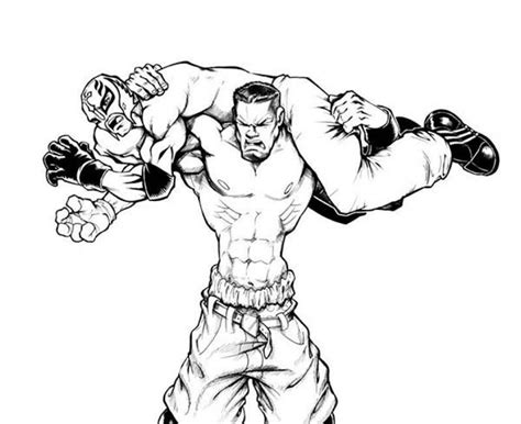 wwe coloring pages free large images get this online wwe coloring pages 98353