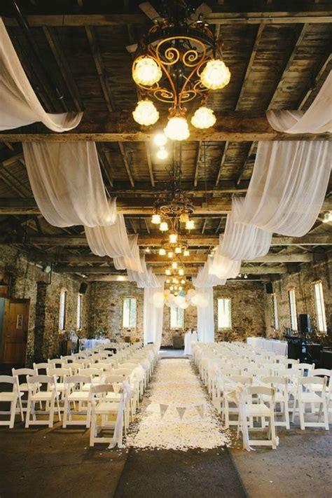 drapery ideas  stun  wedding guests onewed