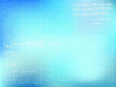 Basic Math Backgrounds Blue Educational White Templates Free Ppt Backgrounds And Powerpoint Template Size Background