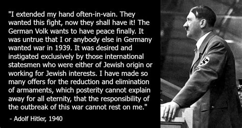 More On Battle Speeches 2 by Adolf And Germany Wanted Peace Extracts From Adolf
