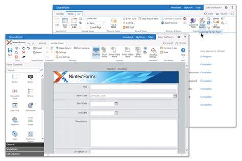 design nintex form deltascheme sharepoint edrm and bpm nintex