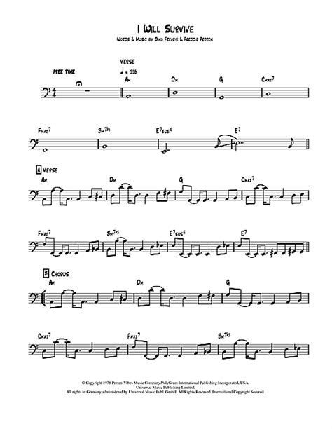 tutorial piano i will survive i will survive piano sheet music free pdf sheet music