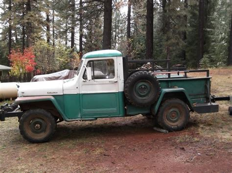 71 Jeep Truck 177 Best Images About Willys Truck On