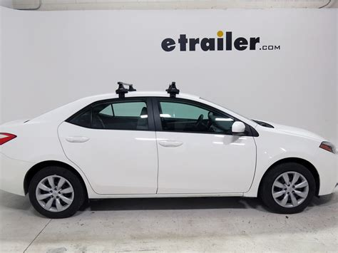 Roof Rack For Toyota Corolla Thule Roof Rack For Toyota Corolla 2014 Etrailer