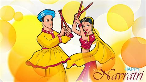 navratri couple wallpaper hd navratri dandiya couple wallpapers 852x480 137831