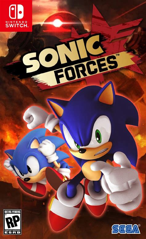 Nintendo Switch Sonic Forces Standard Edition sonic forces nintendo switch new consoles nintendo switch nintendo