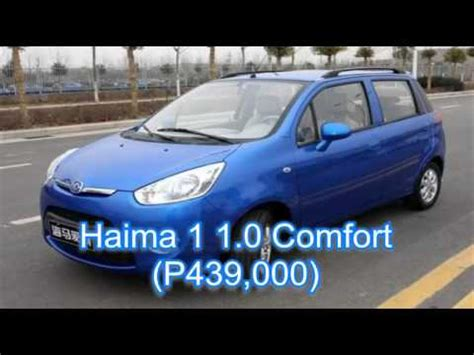 TOP 10 Cheapest Cars in the Philippines   YouTube