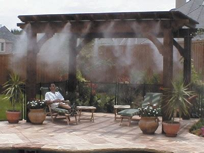 misters for backyard outdoor misters cooling systems mist cooling mist