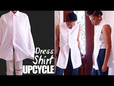 how to turn a man out in the bedroom diy how to make a dress out of a mens dress shirt doovi