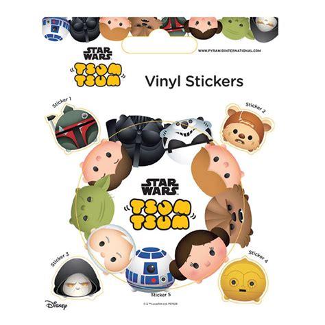 Tsum Disney Kotak Makan Hello disney tsum tsum wars vinyl sticker sheet ps7323 character brands