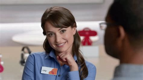 girl in att commercial ebl milana vayntrub aka lilly from the at t commericals
