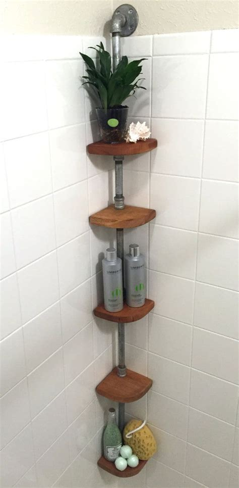 corner shelves bathroom best 25 shower storage ideas on in shower