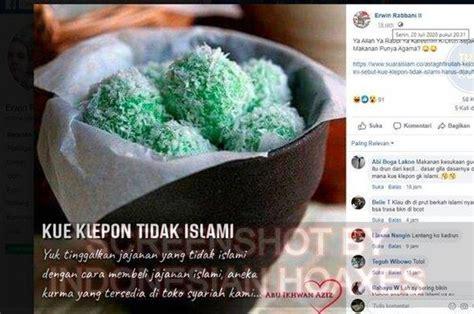 awal mula isu kue klepon tidak islami akhirnya berhasil