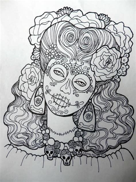 dia de los muertos coloring book dia de los muertos coloring pages skull coloring pages