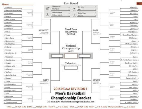 2015 ncaa march madness bracket cbs 2015 ncaa basketball tournament schedule bing images