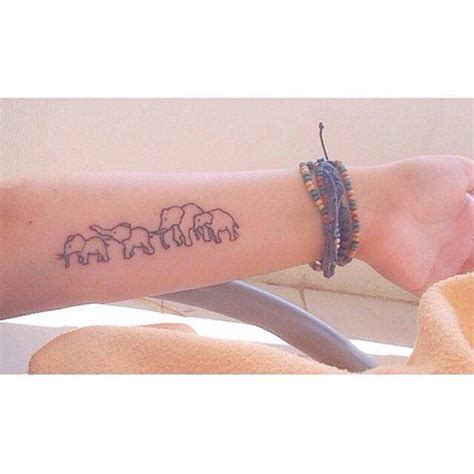 las 25 mejores ideas sobre tatuajes de elefantes en