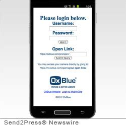 oxblue adds mobile site for android and blackberry(r