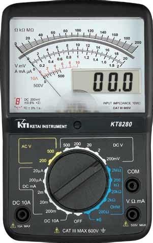 Multimeter Digital Dan Analog alle produkte zur verf 252 gung gestellt vonketai instrument