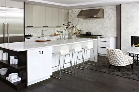 modern white kitchen backsplash white lacquer kitchen cabinets contemporary kitchen hgtv