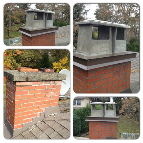 Outdoor Porch by Chimney Flue Covers Copper More Modern Ideas Chimney