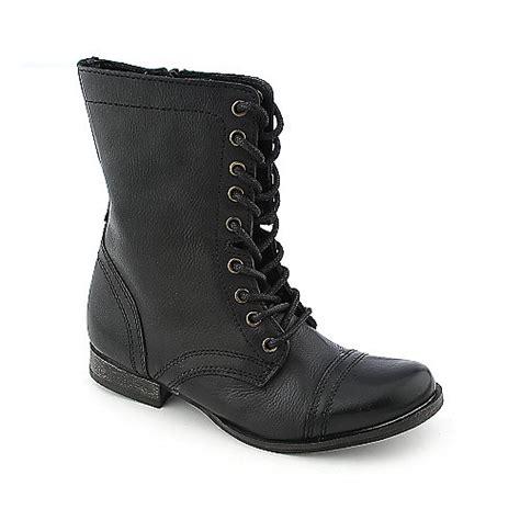 steve madden troopa womens combat boots boots