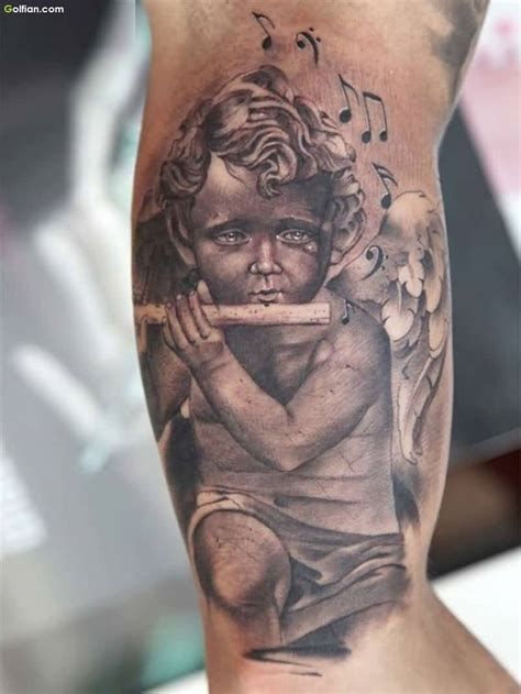 3d angel tattoo 50 most cutest baby angel tattoos beautiful 3d angel