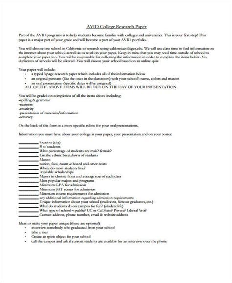 research papers pdf free 22 research paper templates in pdf free premium templates