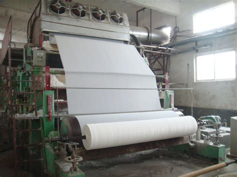 Paper Machines - china waste paper recycling machine toilet paper machine
