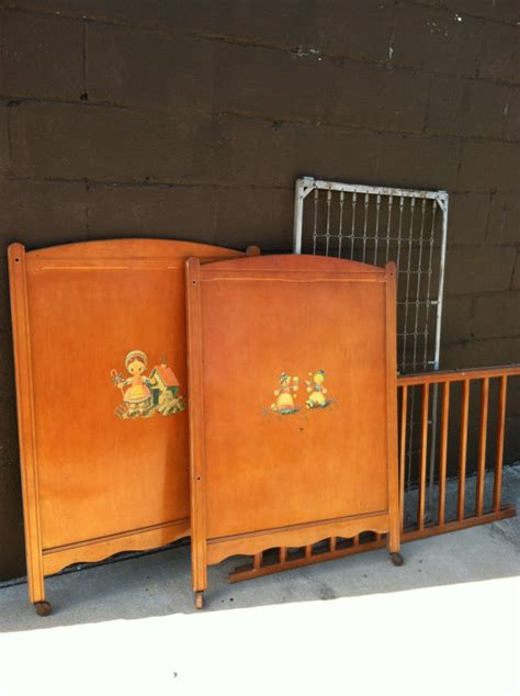 Items Similar To Rare Vintage Thomas Edison Crib Edison Antique Baby Cribs For Sale