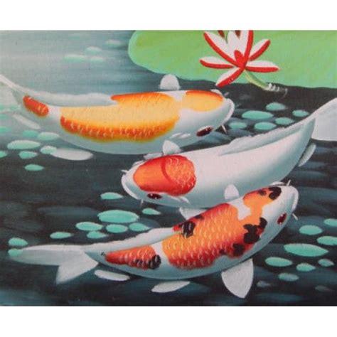 Lukisan Objek Motif Ikan Koi 1 1000 ide tentang dekorasi kain jala di