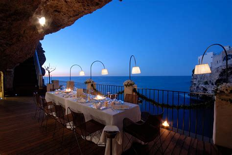 hotel ristorante grotta palazzese grotta palazzese a restaurant in a cave with an astonishing view