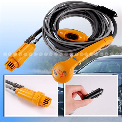 portable outdoor shower kit 12v electric portable car cing hiking travel outdoor