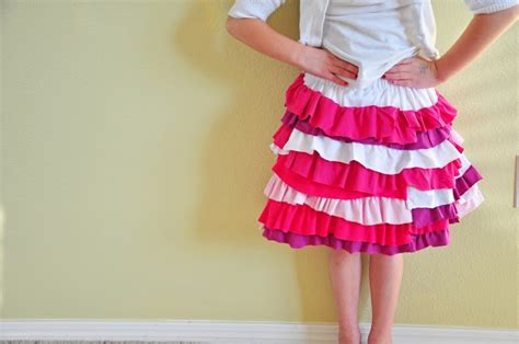 t shirt ruffle skirt pattern 1000 images about how to make ruffles on pinterest