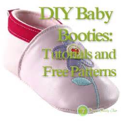 Diy baby booties tutorials and free patterns frugal family fair