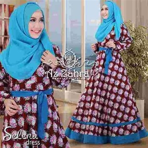 Baju Menyusui Az Zahra busana muslim baju syar i syar i selena dress azzahra