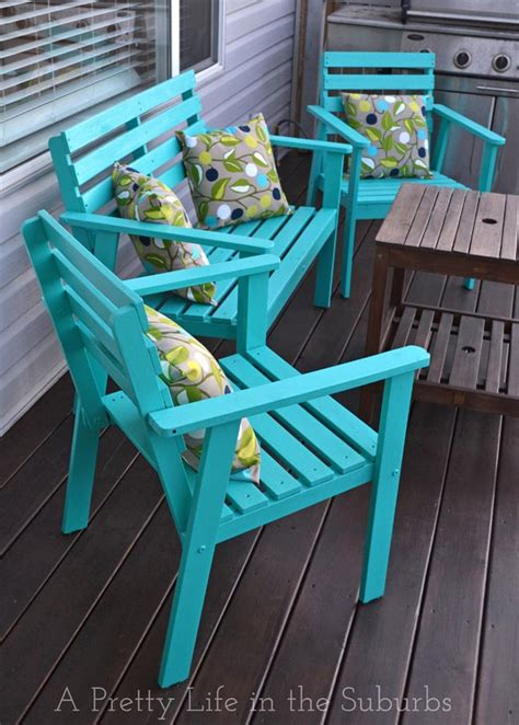 our deck makeover part 1 painting deck furniture a pretty in the suburbs